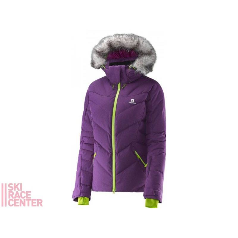 Salomon ICETOWN JACKET W COSMIC PURPLE