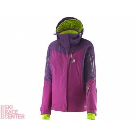 Salomon ICEGLORY JACKET W ASTERPURP/COSM