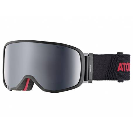 Gogle Atomic Revent S RS FDL HD Black/Red