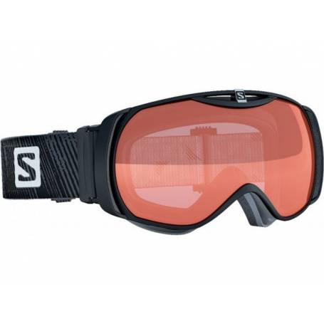 Gogle Salomon X-TEND 8 SMALL ST Black/Lowlig