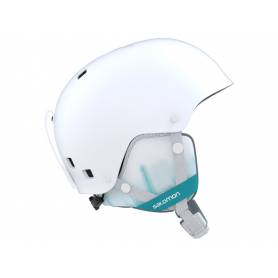 Kask SALOMON VENOM WHITE