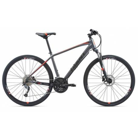 Giant Roam 2 Disc S grafit/red mat 2018