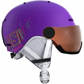 Kask SALOMON GROM VISOR Purple !19