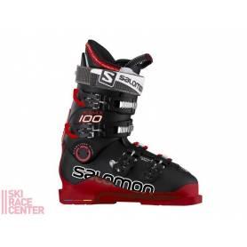 Salomon X MAX 100 Black/Red 13/14 b.o