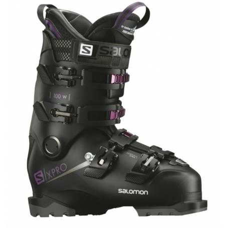 BUTY SALOMON X PRO 100 W Black/Purple !19