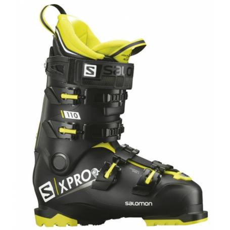 BUTY SALOMON X PRO 110 Black/Acid Gree/Wht !19