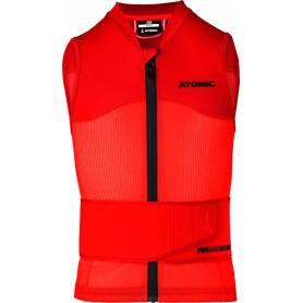 OCHRANIACZ ATOMIC LIVE SHIELD Vest JR Red 2019