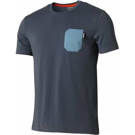 S ALPS POCKET T-SHIRT Ombre Blue !19