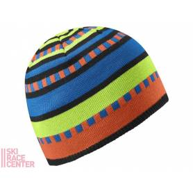 Salomon JUNIOR STRIPE BEANIE BLACK/GR/OR 13/14