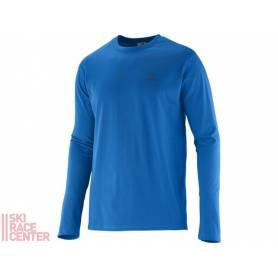 Salomon POLYLOGO LS TEE M Union Blue 14/15