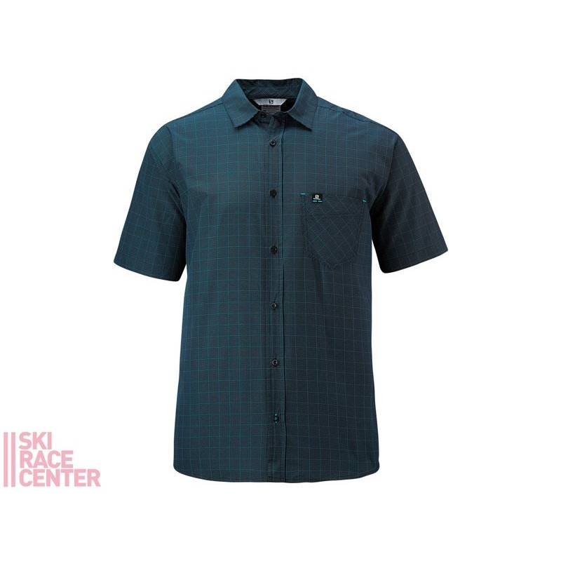 L START SHIRT M SCUBA BLUE/BLACK*