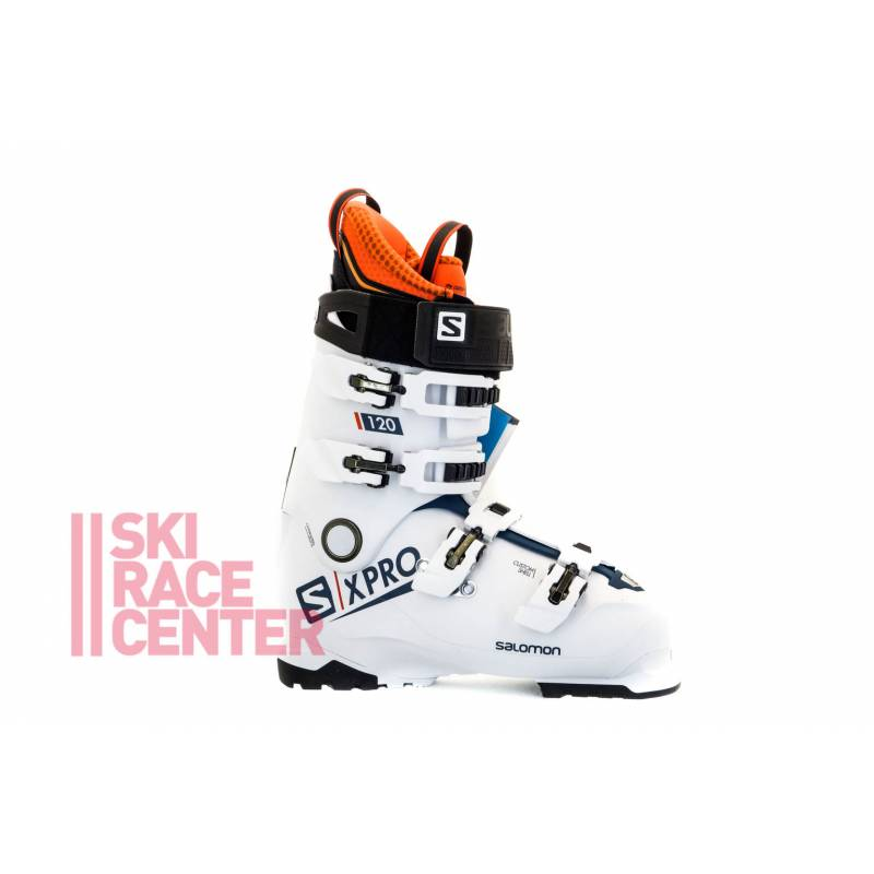 BUTY SALOMON X PRO 120 Wht/Blue/Black 2019