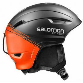 Kask Salomon CRUISER 4D BLACK/ORANGE