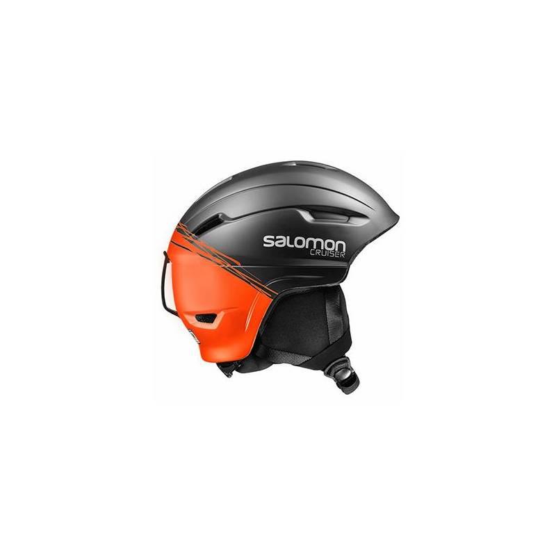 Kask Salomon CRUISER 4D BLACK/ORANGE
