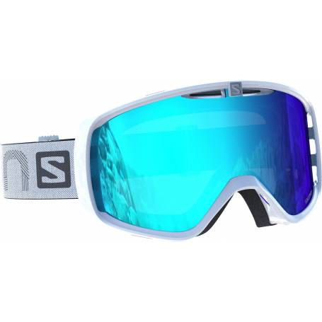Gogle SALOMON PHOTO XF White/AW Blue