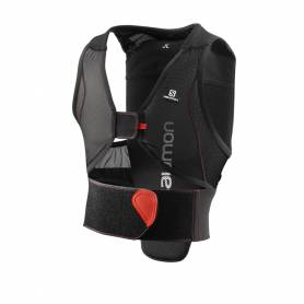 Salomon FLEXCELL JUNIOR Black/Red