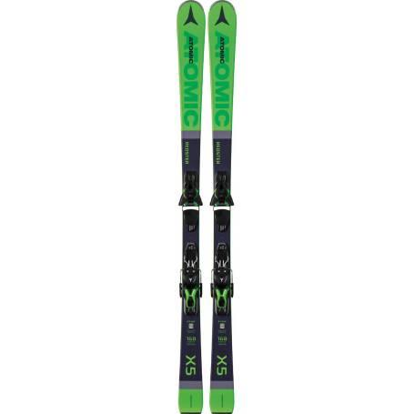 Narty Atomic REDSTER X5 green + FT 10 GW !20