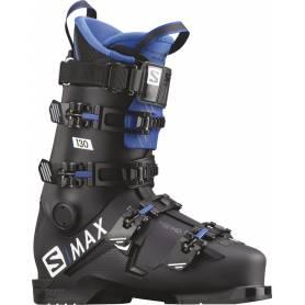 Buty Salomon S/MAX 130 Black/RACE BLUE !20