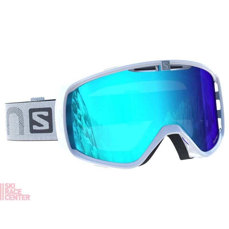 Salomon AKSIUM White/Univ. Mid Blue !17