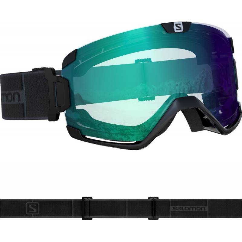 Gogle Salomon COSMIC PHOTO BLACK Black !20