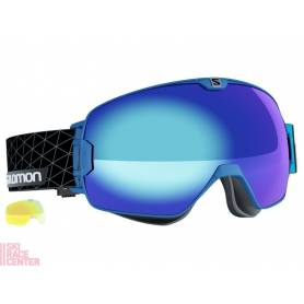 Gogle Salomon XMAX Blue/Solar Blue 16/17