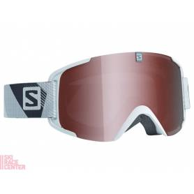 Gogle Salomon XVIEW ACC White/Univ.T.Orange 16/17