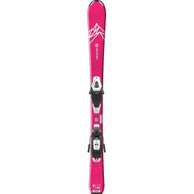 Narty SALOMON QST LUX Jr S+ C5 GW Pink/Wht !20