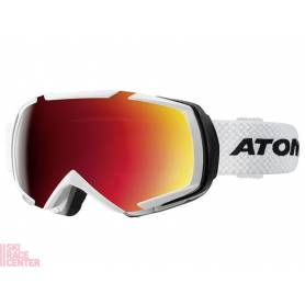 Gogle Atomic REVEL RACING White/Red 16/17 S3+S1