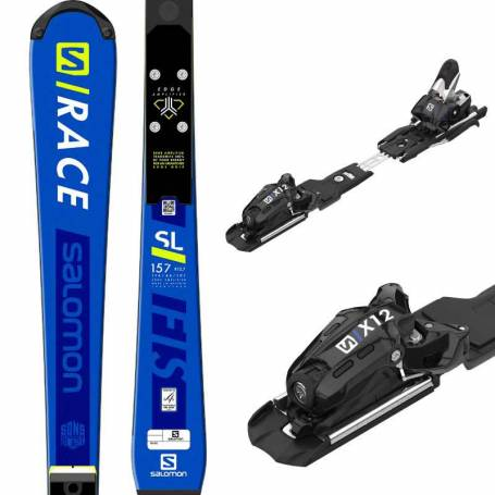 Narty Salomon S/RACE FIS SL 157 + X12 LAB