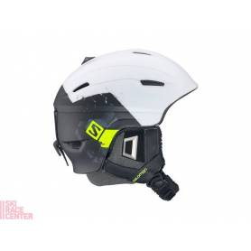 Kask SALOMON RANGER C. AIR White/Black Mat 14/15