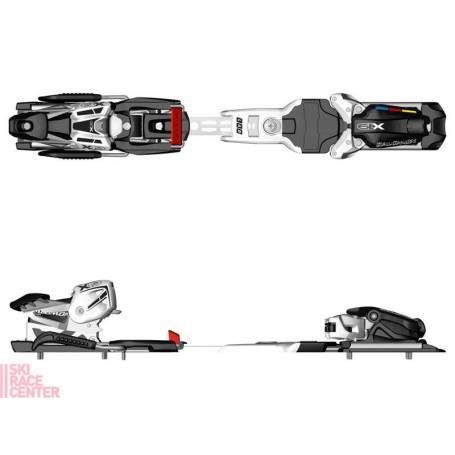 Wiązania narciarskie Salomon X19 Lab Black/White b.o
