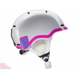 Kask SALOMON GROM WHITE GLOSSY/Pink 16/17