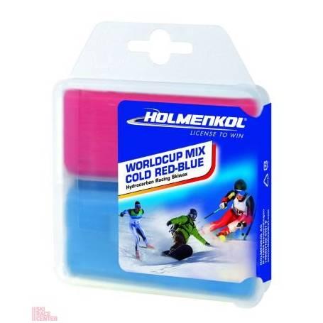 Holmenkol Wordlcup Mix Red - Blue 2x35g