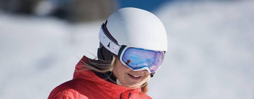 Kaski narciarskie damskie