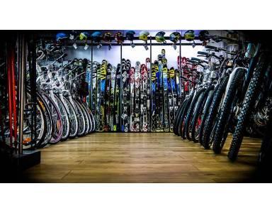 Wiosną narty zamieniam na rowery!