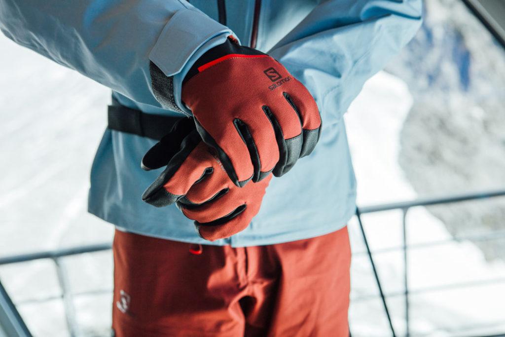 rękawice narciarskie salomon